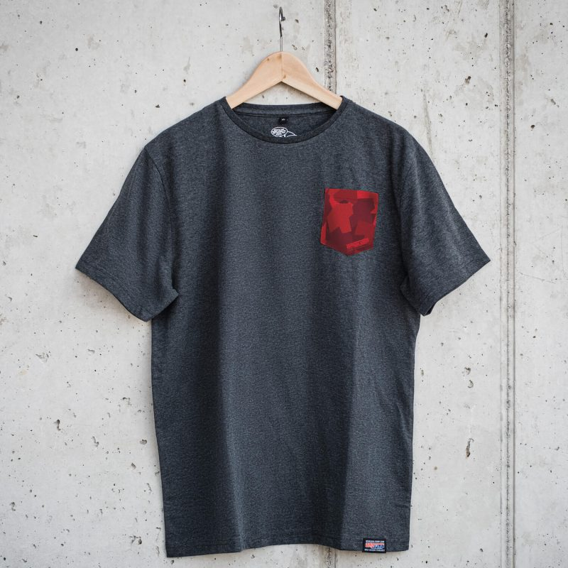 Bagjump T-Shirt Red Pocket